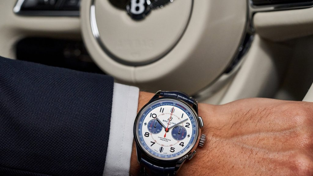 The Breitling Premier Bentley Mulliner Limited Edition