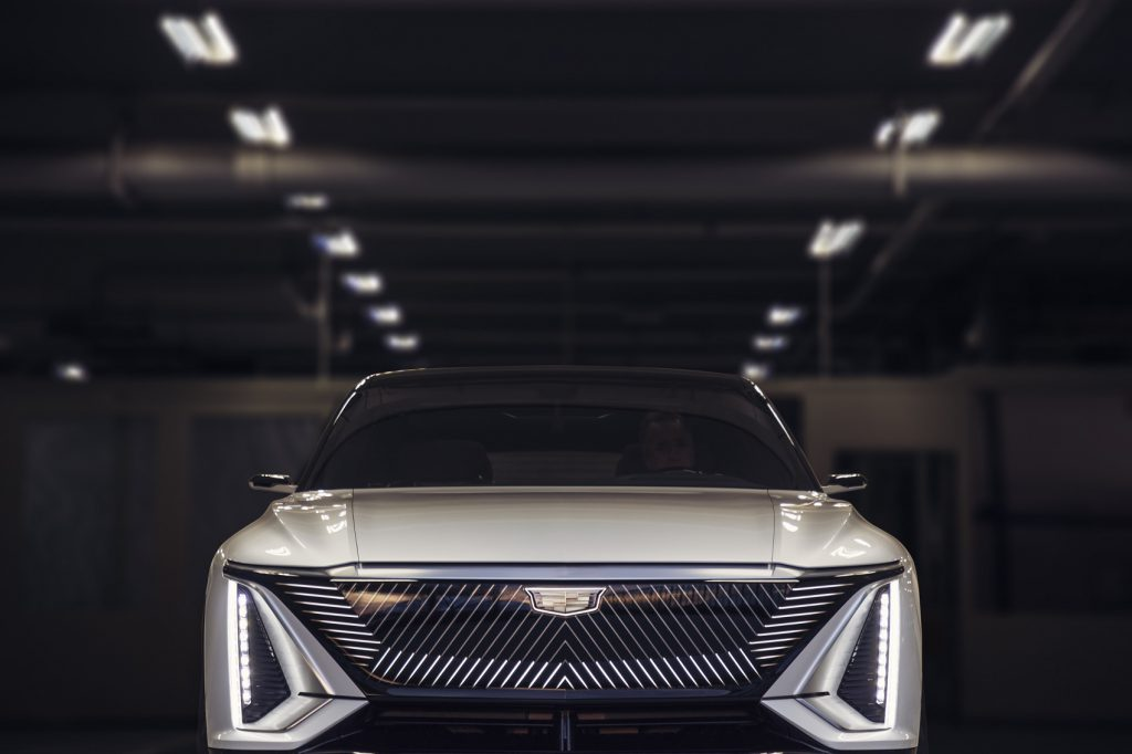 Cadillac LYRIQ pairs next-generation battery technology with a bold design statement which