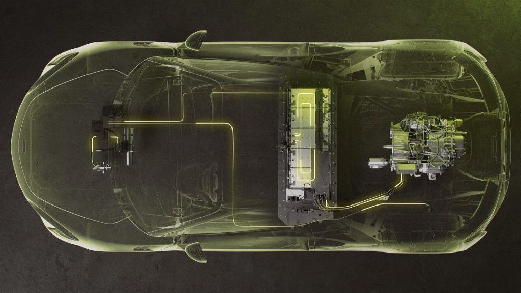 McLaren Artura High-Performance Hybrid Graphic